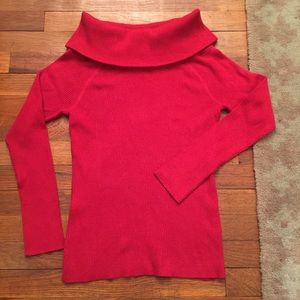 Torrid Plus Size Red Sweater size 1X NWT